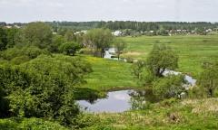 Излучина реки Вязьма