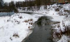 Река Вязьма зимой фото