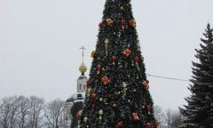 Новогодняя ель Вязьма