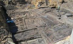 Планировка древнего городища на Соборном холме