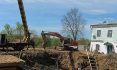 Фото-видео съемка раскопа Н.А. Кренке