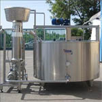 Мини-завод по переработке молока один из первых в области.