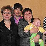 Семья Ларьковых получила юбилейный сертификат