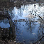 Под угрозой затопления в Вязьме 36 домов