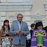 Сергей Антуфьев на дне города Вязьма