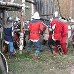 Ливонский орден атаковал Вязьму