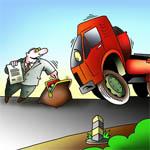 Большегрузным автомобилям снизят транспортный налог
