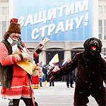 Делегацию из смоленского региона возили на митинг Путина