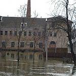Наводнение в городе Вязьма