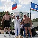 Вязьмичи мас-рестлеры отправляются в Коломенское
