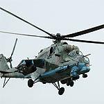 Вяземские вертолетчики тренируются тушить пожары