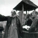 Иеромонах Серафим представил труд о деятельности РПЦ во время войны