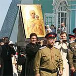 Начался Одигитриевский крестный ход