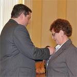 Учительница Тамара Напреева получила государственную награду