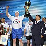 Виктор Колибабчук абсолютный победитель Кубка мира по мас-рестлингу