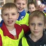 Школьники вяземского интерната побывали на спортивном празднике в Смоленске