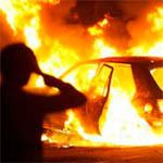 На Ленина у женщины сожгли машину