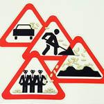 В Вязьме прошел митинг против плохих дорог