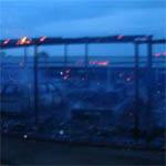 При пожаре автостоянки Нижника пострадало более 50 авто