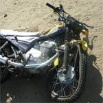 На Минке Дэу Нексия сбила мотоциклиста