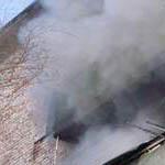 Пожар в Загородном переулке