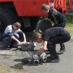 Юные пожарные из Вязьмы заняли третье место в соревнованиях