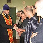 Вяземская епархия подкармливает заключенных