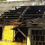 В Демидово в результате пожара погиб человек