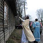 В селе Шуйское епископ Исидор освятил церковь-магазин