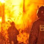 Пожар на улице Гражданской войны
