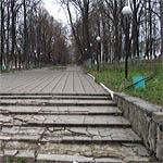 В нахимовском парке светло: не прошло и квартала