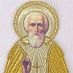 В Вязьме - икона Сергия Радонежского
