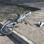 На Лейтенанта Шмидта сбили велосипедистку