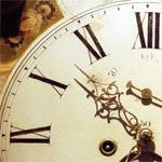 Уличные часы в Вязьме
