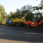 Островскому сдали ул. Комсомольскую без тротуаров