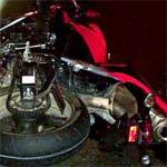 В Вязьме разбился мотоциклист