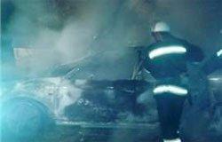 На Комсомольской сожгли Audi