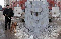 Вязьмичи ограбили строительный объект