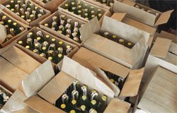 В Вязьме изъята крупная партия поддельного алкоголя