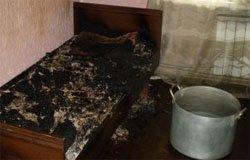 Любительница покурить, чуть не спалила дом на Юбилейной
