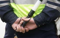 На Кронштадтской пьяный водитель сбил инспектора ДПС