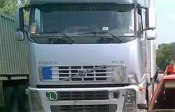 На 244-м километре Москва-Минск водитель Вольво врезался в фуру
