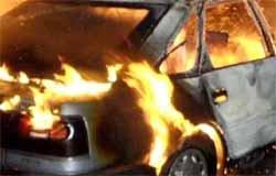 """В садоводческом товариществе """"Энтузиасты"""" сгорел автомобиль"""