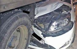 В ДТП на 201 километре М-1 погибли два человека