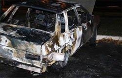 На Московской сожгли ВАЗ-21099