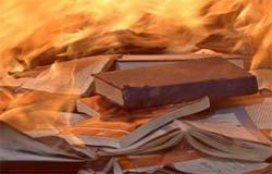 В Касне сгорела библиотека