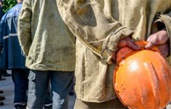 Забастовка рабочих в Сафоново