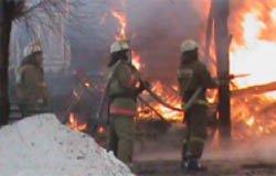 При пожаре жилого дома в Вязьме сгорел мужчина
