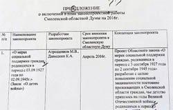В Смоленске Атрощенкова учат писать без ошибок