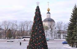 23 декабря зажгут огни на городской ёлке